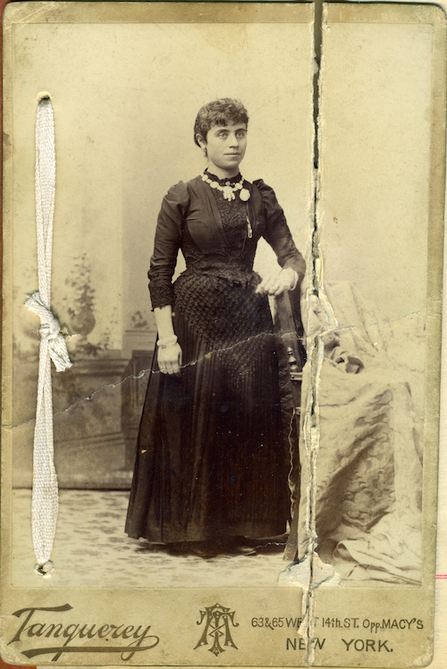 Sophie Daoud Shishim, New York, 1895.