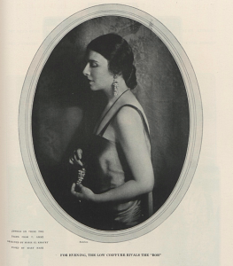 Jewelry designed by Marie el-Khoury. Vogue 1923.
