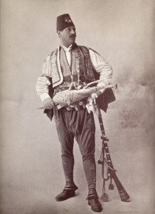 "Robert Levi in his ""fanciful garb"""